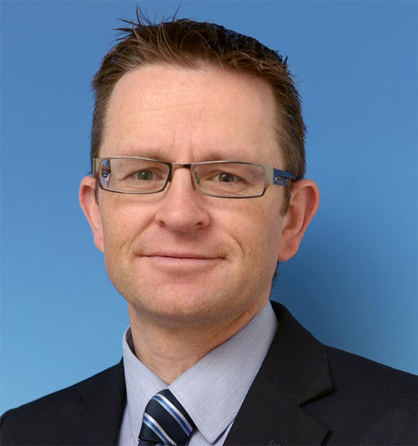 Ray Molyneaux, Sales and Marketing Director